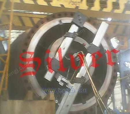 出售塞沃移動式內漲式法蘭面加工機