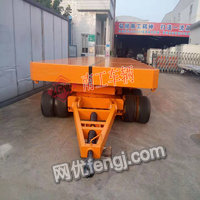 出售120吨载重王无动力平板拖车带升降功能