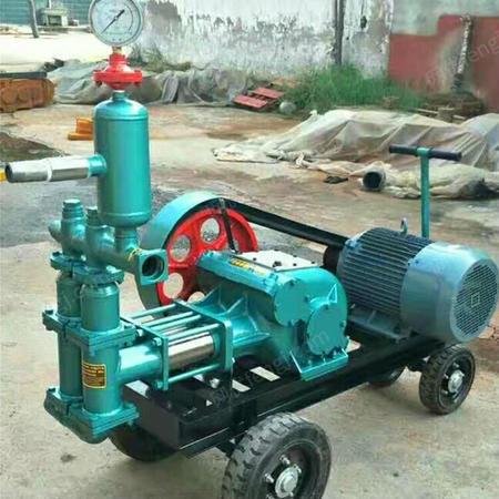 出售砂浆注浆泵 活塞式注浆泵 双缸泥浆注浆泵