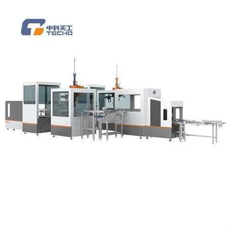 出售中科天工TG-NK30F 全自动开口烟盒制盒机,节约材料
