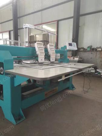 出售神韵SY-BP902/400*680双头家用绣花机小型绣花机工厂打样刺绣机