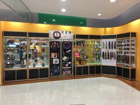 出售广西钛合金玻璃展柜、精品展架、柜台、产品展柜、珠宝柜