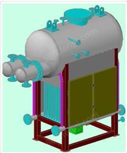 出售蓄熱式焚燒爐煙氣余熱導熱油鍋爐