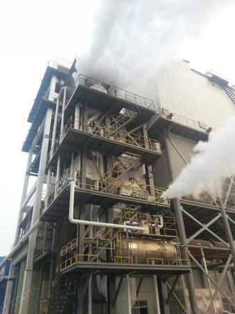 出售废酸处理蒸发结晶装置烟气余热蒸汽锅炉