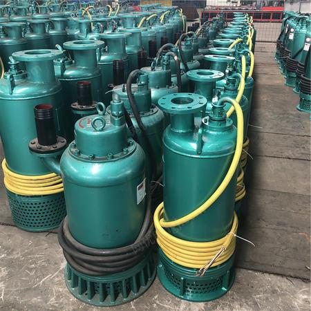 出售防爆潜水泵BQS10-100/2-7.5河南漯河污水污物双叶轮高扬程排污泵