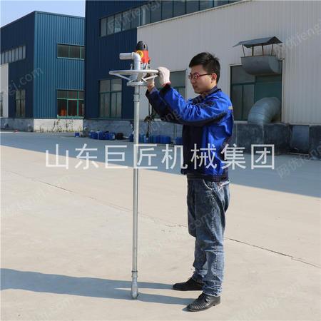 巨匠集團供應SJD-2A便攜式電動打井機手提鉆井機家用小型打井機