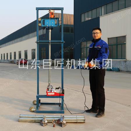 巨匠集團供應SJD-2B型全自動龍門架式電動打井機可折疊的打水井設備