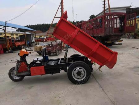 出售礦用柴油三輪車自卸載重王鉛鋅礦翻斗車建筑工地灰漿車