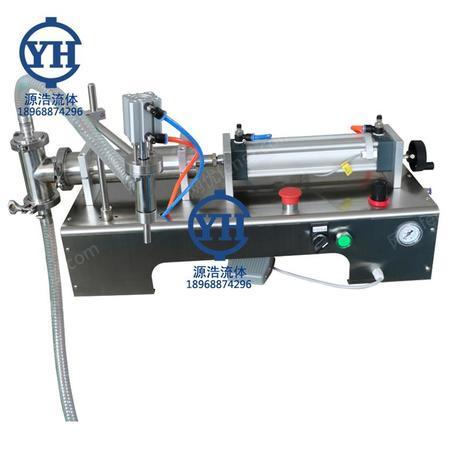 出售不锈钢气动灌装机 单头液体灌装机