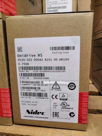 出售HS30-02200042A尼得科高頻1500HZ低壓220V