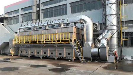 出售山東催化燃燒成套設備廢氣處理設備光氧催化設備移動伸縮房
