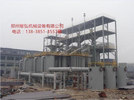 出售高煤气热值双段式煤气发生炉