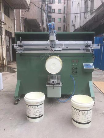 出售膠水桶絲印機18升油漆桶滾印機20升機油桶涂料桶印刷機