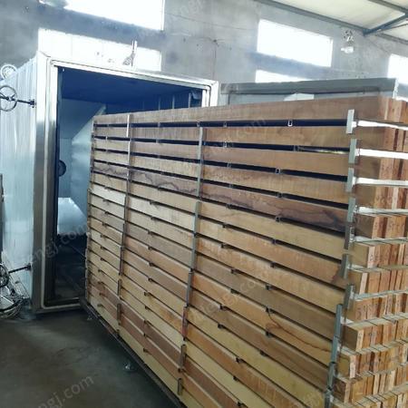 出售美国红樱桃木烘干碳化、进口木材炭化处理