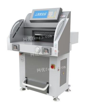 出售上海香宝XB-AT551-09双液压超静音切纸机(德国波拉结构)