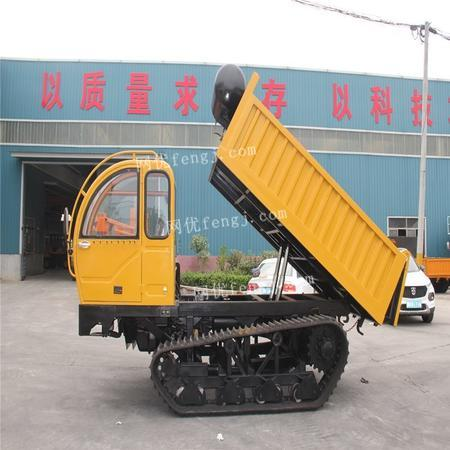 出售履帶車柴油大馬力履帶式液壓自卸車8T座駕履帶車