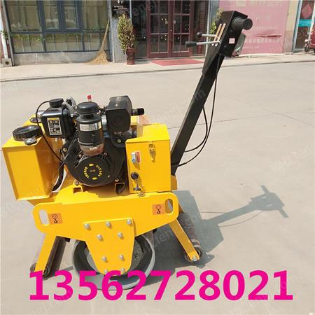 出售手扶單輪壓路機 小型壓實機 瀝青路面碾壓機