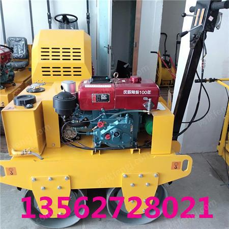 出售河北小型雙鋼輪壓路機 手扶雙輪壓實機 新鋪路面軋道機