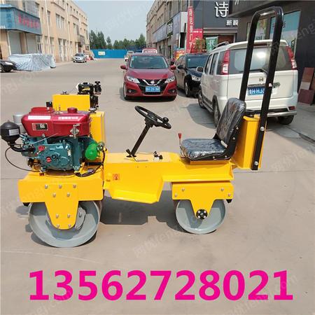 出售重慶座駕式壓路機 小型駕駛式碾壓機 雙鋼輪壓路機廠家