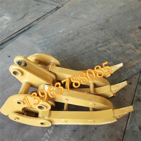 出售挖机固定式抓钢机 机械抓钢机 抓木机旋转装卸抓夹木器