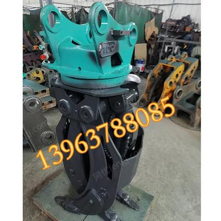 出售挖掘机抓木器夹木机夹木器液压抓木器配件360夹木器夹石器夹钢器