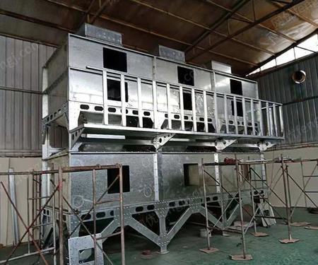 出售鄒平偉航新式催化燃燒設備,干式噴漆柜,活性炭柜