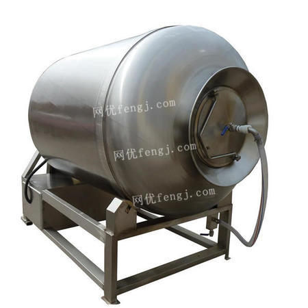 出售不銹鋼真空滾揉機 變頻式肉食品真空腌制入味機 醬鹵煮肉滾揉機
