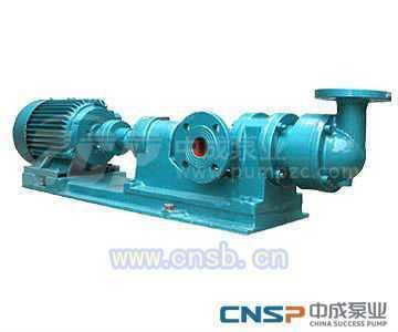 浓浆螺杆泵-单级螺杆泵