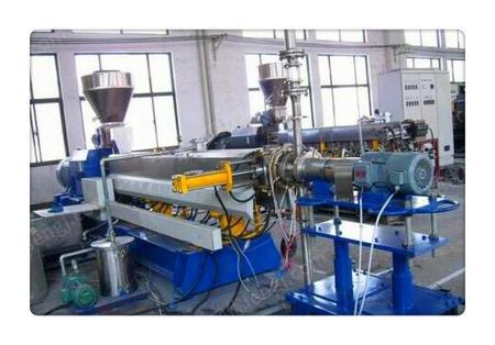 供應ZLJ03滑石粉高填充母料造粒機,定制全自動環保型雙螺桿塑料造粒機組