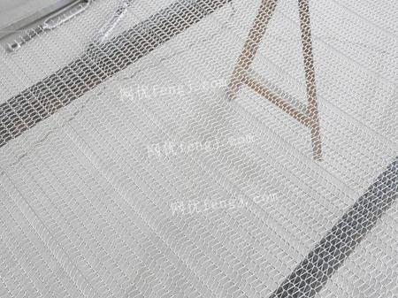 供應輸送機眼鏡網帶 加厚不銹鋼網帶