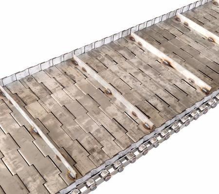 出售不銹鋼沖孔鏈板 烘干機械輸送板鏈