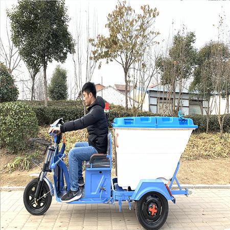 出售電動三輪環衛車500L小型市政垃圾清運車