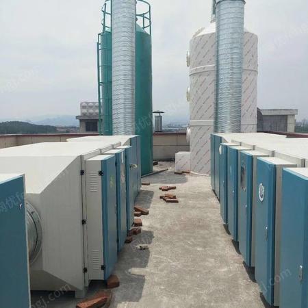 出售光氧催化廢棄處理設備 中央集成設備 催化燃燒設備 水簾柜