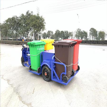 出售電動四桶新能源電動垃圾車
