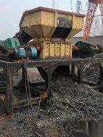 河南新乡因需要更换更大设备出售二手撕碎机 塑料 铁肖等等均可撕碎