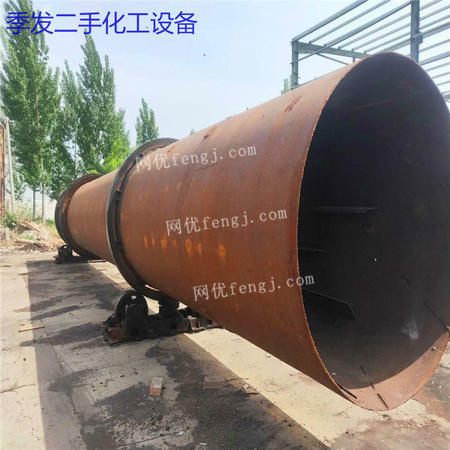 二手1.8*18米煤泥滚筒烘干机 沙子滚筒烘干机 河沙滚筒烘干机
