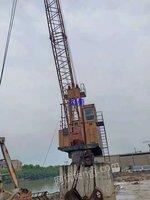 出售25吨码头吊机,码头岸吊,抓斗吊机,高架吊机