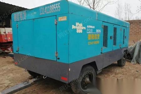 北京朝阳区转让低价处理日本AIRMAN-PDSK900一台空压机,发动机需要二保