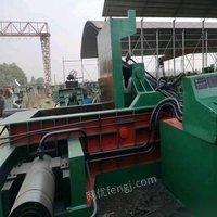 安徽亳州环保查扣一台华宏200吨金属打包机处理 23588元