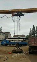 山西长治10吨二手上包下花龙门吊出售