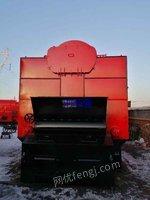 二手锅炉出售八吨蒸汽燃煤燃生物质