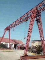 出售16吨,跨度20+6+6龙门吊