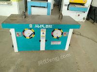 河北沧州低价转让木工设备双轴立铣