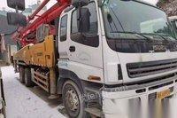 天津河西区转让10年三一五十铃46米泵车