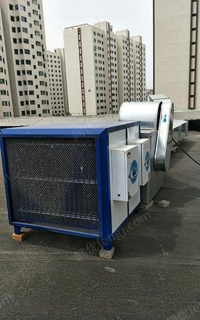 山西长治九成新饭店用油烟净化设备出售 10000元