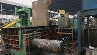 重庆九龙坡区查环保不干了处理华宏315吨金属打包机一台 25890元