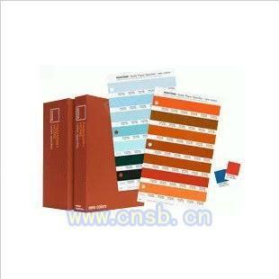 上海紡織色彩指南-紙版TPX