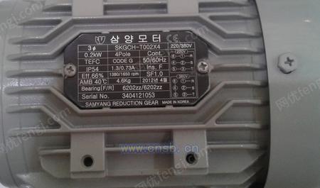 韩国SAMYANG(三洋)电机