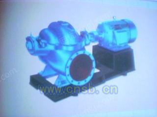 10SH-13雙吸泵