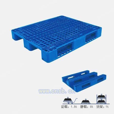川字型塑料托盘1311(可加钢管
